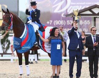 Russia Qualified a Team for the Tokyo Olympics at the Group C Dressage qualifier staged at Maxima Park in Moscow (RUS) on Sunday 23 June 2019.