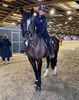Rebecca Bell and Nibeley Union Hit Ready for the 2020 CDI Keysoe