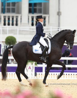 Mikaela Lindh and Skovlunds Mas Guapo at the 2012 Olympic Games :: Photo © Astrid Appels