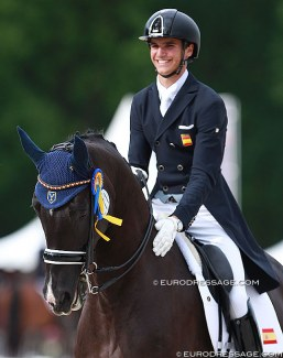Juan Matute Guimon and Dhannie at the 2016 CDIO Compiegne :: Photo © Astrid Appels