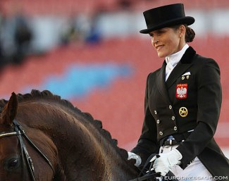 Katarzyna Milczarek at the 2017 European Dressage Championships :: Photo © Astrid Appels