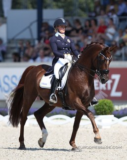 Duendecillo P at the 2018 CDIO Aachen :: Photo © Astrid Appels