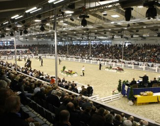 The indoor arena in Verden, also known as the Niedersachsenhalle. Here the 2020 World Young Horse Championships will take place