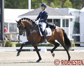 Jacob Norby Sorensen and Gammelenggards Zappa at the 2019 Falsterbo Horse Show :: Photo © Ridehesten