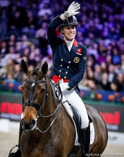 Charlotte Dujardin and Mount St. John Freestyle at the 2020 CDI-W Amsterdam :: Photo © Petra Kerschbaum