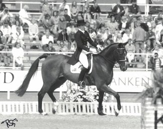 Rozzie Ryan and Stirling Wilton xx at the 1990 World Equestrian Games