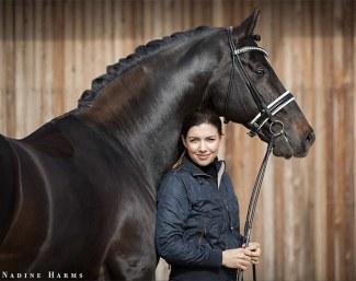 Join Sabine Rueben at Gestüt Sprehe and train, develop and compete fabulously bred, quality dressage horses :: Photo © Nadine Harms