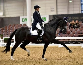 Petra Stroetmann and Daytona at the 2020 CDN Munster :: Photo © private