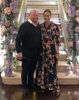Engaged to be married, Bret Willson and Rosie Moreton-Deakin are expecting