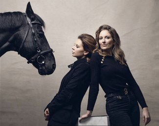 Maria Mironova and Diana Al Shaer, the leading ladies behind MD Horse Agency