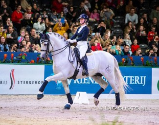 Britt Dekker and Genciano at the 2020 Jumping Amsterdam :: Photo © Digishots